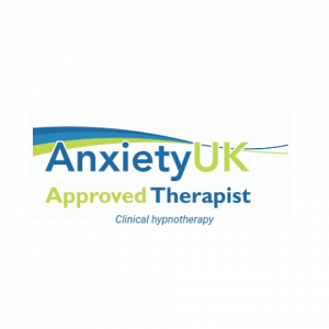 Anxiety UK approved therapist hypnotherapist