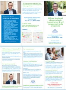 IBS Functional Gut Directed Hypnotherapy Leaflet